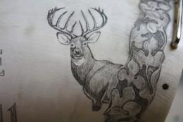 Deer DetailHere's a closer look at the buck.